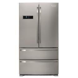 HOTPOINT FXD 822F Kühlschrank amerikanischen-Kühlschranktür Amerikaner (autonome, Edelstahl, amerikanischen, A +, ST, bas-placé)