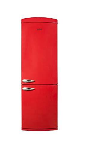 FRIGO: COMBI 190x60,5x67.Mod.: SCR-190 R.Color: Rojo.Clasificación Energética: A +.Display: No