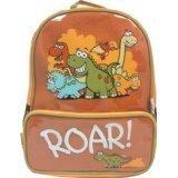 Bugzz Kids - Borsa da viaggio zaino per bambini, Motivo: dinosauro, Colore: Arancione