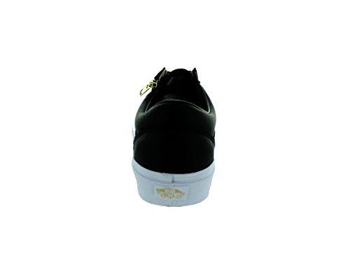 Vans U Old Skool Zip Unisex-Erwachsene Sneaker Schwarz