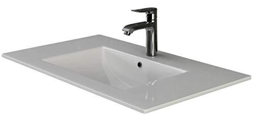VILSTEIN© Keramik Einbau-Waschbecken Einsatz-Waschbecken Waschtisch Becken Handwaschbecken 70 cm