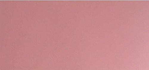 Wachsplatte rosa 20x10 cm - 9871 - Verzierwachsplatte 200x100 mm für Kerzen