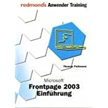 FrontPage 2003 Einf??hrung by Thomas Pelkmann (2004-11-30)