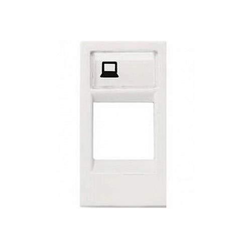 Niessen - n2118.1bl tapa ventana 1 conector zenit blanco Ref. 6522005062