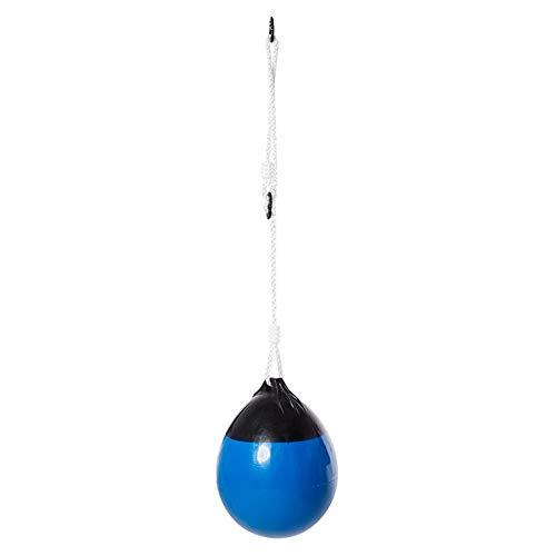 Ball, Tragbare Kinderschaukel Ball Hängen Schaukel Spielzeug mit Seil Kette für Kinder Outdoor Yard Spiel (Blau) ()