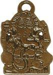 Glücksbringer/Amulett/Talisman/Symbol/Schmuck: Indischer GANESHA Anhänger (Erfolg)