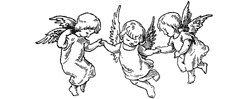 Motivstempel * Bilderstempel * Stempel * Drei Engel Weihnachten * 147191 a