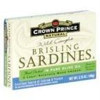 Corona Prince Sardina Brisling ooil, 3,75oz