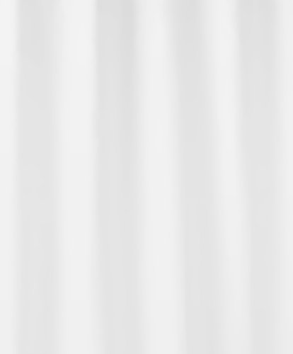Kleine Wolke Duschvorhang Kito, 120 x 200 cm, weiß thumbnail