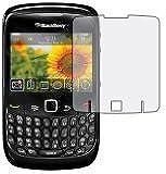 6 x Films de protection d'écran pour Blackberry 8520 Curve - Résistant aux éraflures / Display Protective Film