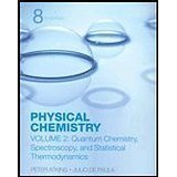 Physical Chemistry, Volume 1: Thermodynamics And Kinetics 8th edition by Atkins, Peter, De Paula, Julio (2006) Paperback