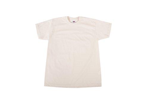 Fruit of the Loom Jungen T-Shirt Valueweight T Kids, Grau (Grey 60), 104 (Herstellergröße: 4Y)