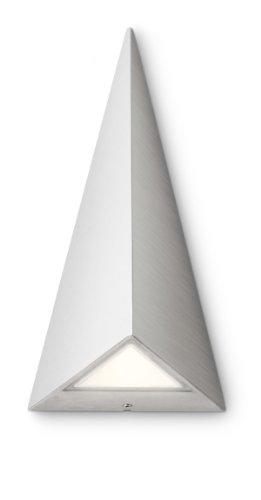Philips Hills Lampada da Parete per Esterno, Triangolare, Metallo, Bianco, LED