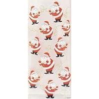 2 X 20 Christmas/Xmas Cello/Cellophane Party/Gift Bags (Twinkle Santa)