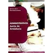 Administrativos de la Junta de Andalucía (Promoción Interna). Temario Vol. II. (Colección 186)