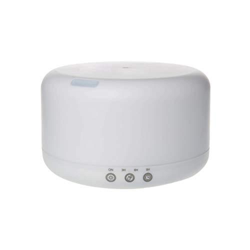 VORCOOL Difusor de Aroma ultrasónico 1000ml Humidificador de Aceite Esencial Mudo de Niebla fría 7 Colores Luz de Noche para SPA y Yoga (Enchufe de la UE)