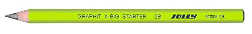 JOLLY Graphit X-BIG Starter, 12er Packung, Bleistift