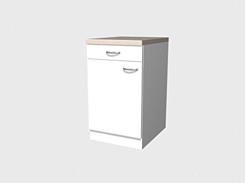 Flex-Well Classic Unterschrank Wito 50 cm Weiß