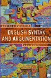 English Syntax and Argumentation