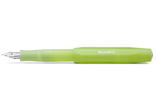 Kaweco Frosted Sport Fine Lime - Pluma estilográfica