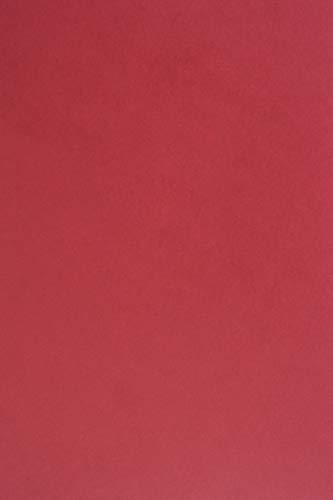 25 Blatt Dunkelrot Tonkarton DIN A4 210x297 mm, 210g, Sirio Color Cherry, ideal für Hochzeit, Geburtstag, Weihnachten, Einladungen, Diplome, Visitenkarten, Scrapbooking, Basteln und Dekorieren -