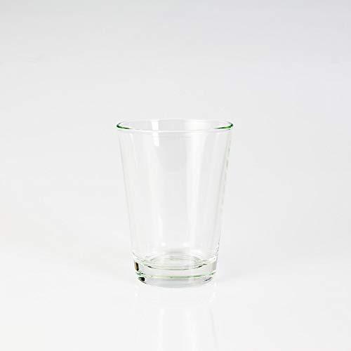 INNA Glas - Mini Vase / Photophore ALEX, en verre, transparent, 11 cm, Ø 8 cm - Verre à bougie / Petit vase en verre