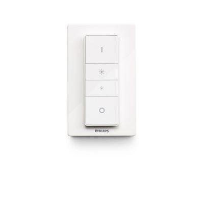 Philips Lighting Hue Telecomando Dimmer Switch per Controllo Illuminazione Intelligente, Bianco, Versione 2018