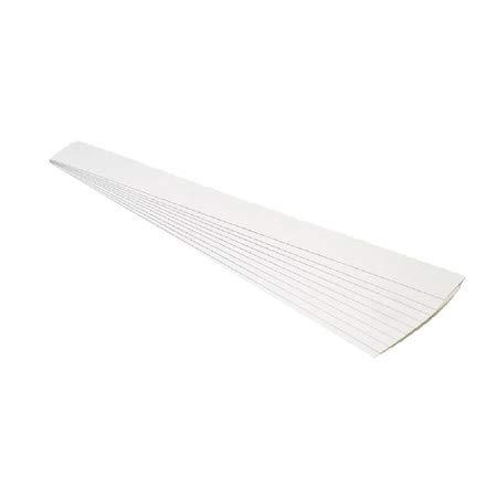 Scheda dettagliata Glooke Selected Set 10 Confezioni Strisce in Cartone cm. 3x100patinate Bianche Alimenti