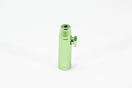 The Metal Bullet (Green) - Aluminum Snuff Bullet - Nasal Snuff Tobacco  Accessory - Snuff Rocket Sniffer by Snuff Stuff