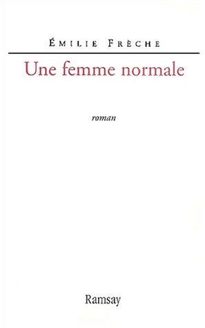 Une femme normale