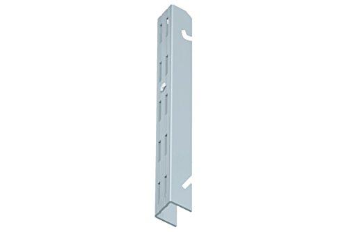 Home system 66045 cremagliera doppia con aggancio, alluminio