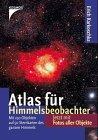 Atlas für Himmelsbeobachter. Der Sternatlas zum Himmelsjahr - Erich Karkoschka