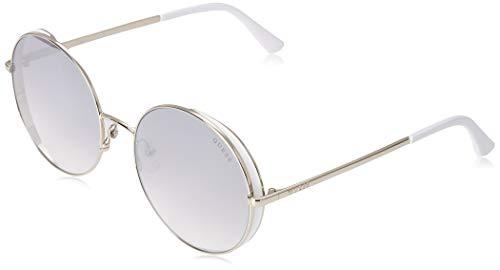 Guess Sonnenbrillen (GU-7606 20C) silber - weiß - blau-grau verlaufend mit silber verspiegelt effekt