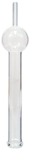 GSC International 401–2Borosilikatglas Trocknen Tube mit einer Glühbirne, 150mm Länge
