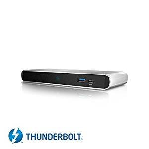 CalDigit TS3 Lite Thunderbolt 3 Dock con cable de 1 metro - USB 3.1, DisplayPort, LAN, Audio for Macbook Pro 2016 / 2017, iMac 2017, Windows Thunderbolt 3 PC - Dell / HP / Lenovo