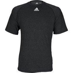 Adidas Climalite Short Sleeve Tee (Adidas Climalite Mens Short Sleeve Training Tee M Black Heathered)