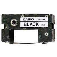 Preisvergleich Produktbild CASIO TR-18BK Farbband schwarz für Casio Disc Titler CW-Serie
