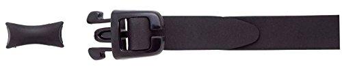 SWANS Brillenband + Nasenbrücken für optische Schwimmbrille FCL-X1, Farbe:schwarz