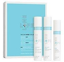 Anti-aging moisturizing skin care kit with stem cells - 3pc travel size kit, by Lifeline Stem Cell Skin Care