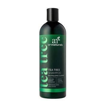 artnaturals Tea Tree Revitalisierende Shampoo mit Aloe Vera, Algen, Teebaumöl, Rosmarin, Eukalyptus, Lavendel, rosehip und pepermin zu reinigen, Reinigen und die Kopfhaut stimulieren 473ml