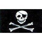 Jolly Roger - Bandera pirata (calavera...