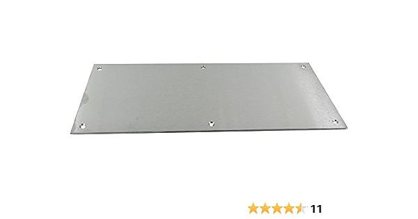 780mm x 100mm Satin Aluminium Kick Plate SAA
