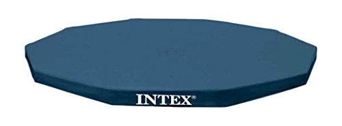 Intex Bâche de protection pour Tubulaire ronde Bleu 28030