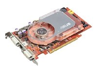 Asus ATI Radeon X800XT 256MB PCI-Express-Grafikkarte mit 2 x DVI, TV-Out In & Video