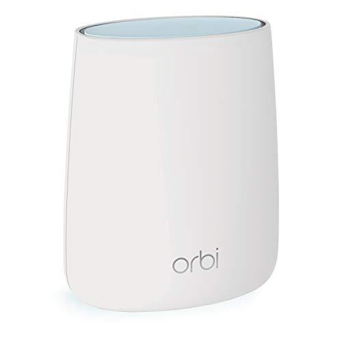 NETGEAR ORBI Système Wifi Mesh amplificateur RBR20 ( 1 routeur) - Jusqu'à 125m² de couverture