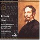 Verdi : Ernani. Mitropoulos, Christoff, Del Monaco