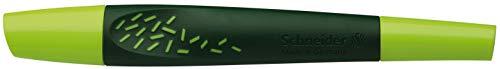 Schneider Breeze Patronenroller (inkl. Rollerpatrone 852 mit Kugelspitze, Schreibfarbe: königsblau, löschbar) hellgrün