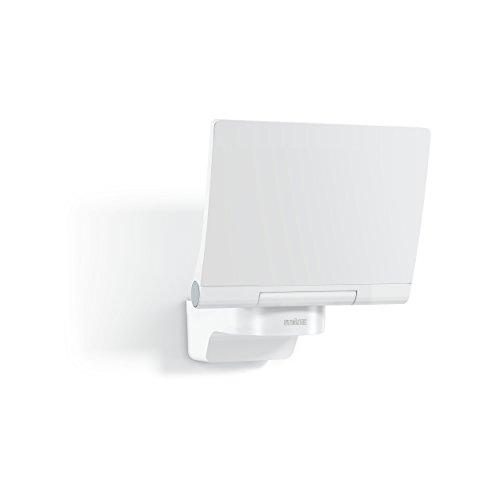 Steinel LED-Strahler XLED Home 2 XL Slave weiß, vernetzbarer Fluter, 20 W, LED Wandleuchte außen, Innenhof & Zufahrt