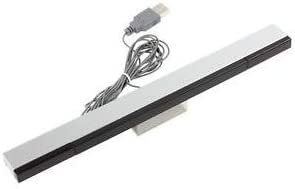 SLB Works Brand New Practical Wired Sensor Bar with USB Cable for Nintendo Wii / Wii U / PC QKSY
