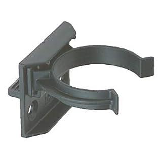 Press & Screw Kitchen GROOVED Kick Board/Plinth Clips & Bracket - 10pk - 32mm Diameter